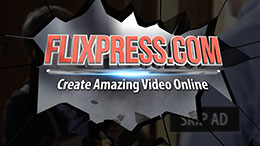 Make video youtube intro with automated templates flixpress screenshot of template 154 pronofoot35fo Choice Image